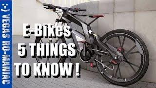 5 REASONS to buy and E-Bike ancheer, eshion,  cyclamatic