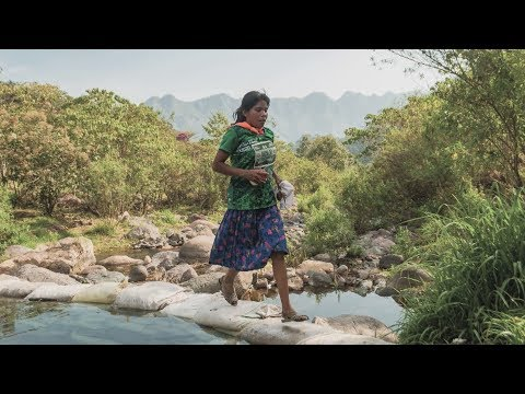 An athlete whose indigenous skills helped make her a marathon star