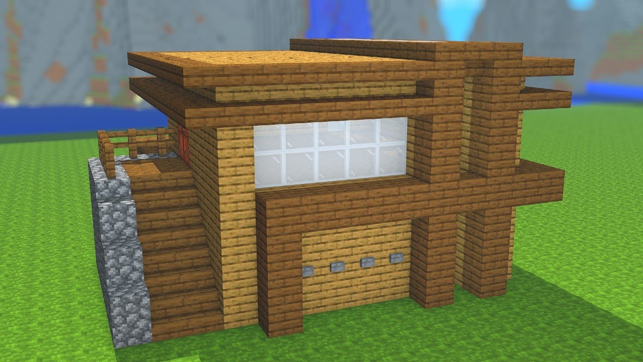 Download Minecraft Maison En Bois Mp3 Free And Mp4