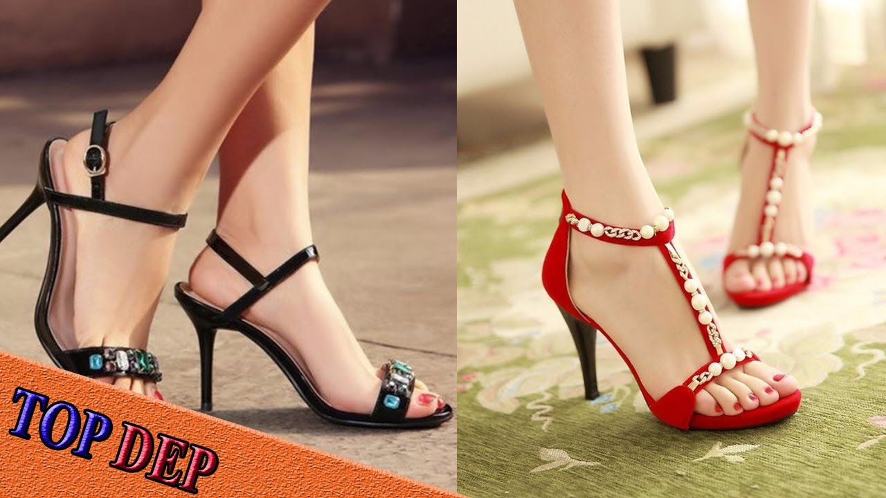 Top Mẫu giày sandal cao gót nữ đẹp tôn dáng thời trang