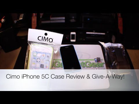Cimo IPhone 5C Case Review & Give-A-Way!