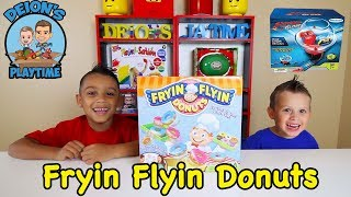 Deion and Dominick test out some fun games, Fryin Flyin Donuts and ...