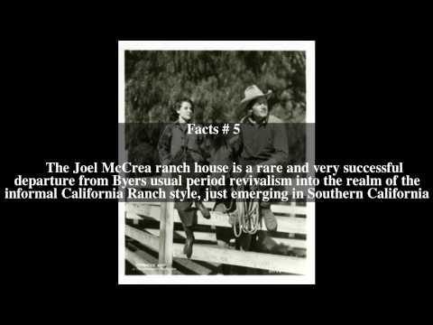 Joel McCrea Ranch Top # 7 Facts