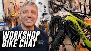 Behind the scenes chat about 2019 Turbo Levo with Berkshire Cycles including tips and maintenance