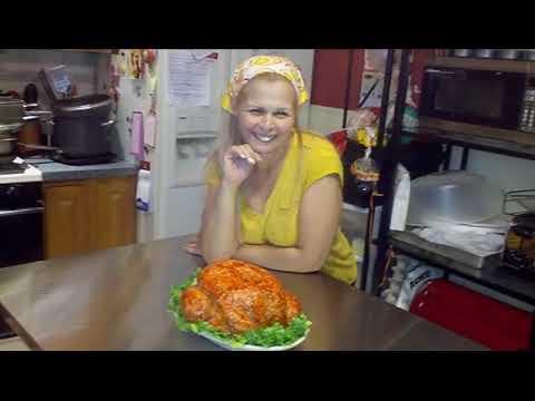 How to make a roasted turkey cake