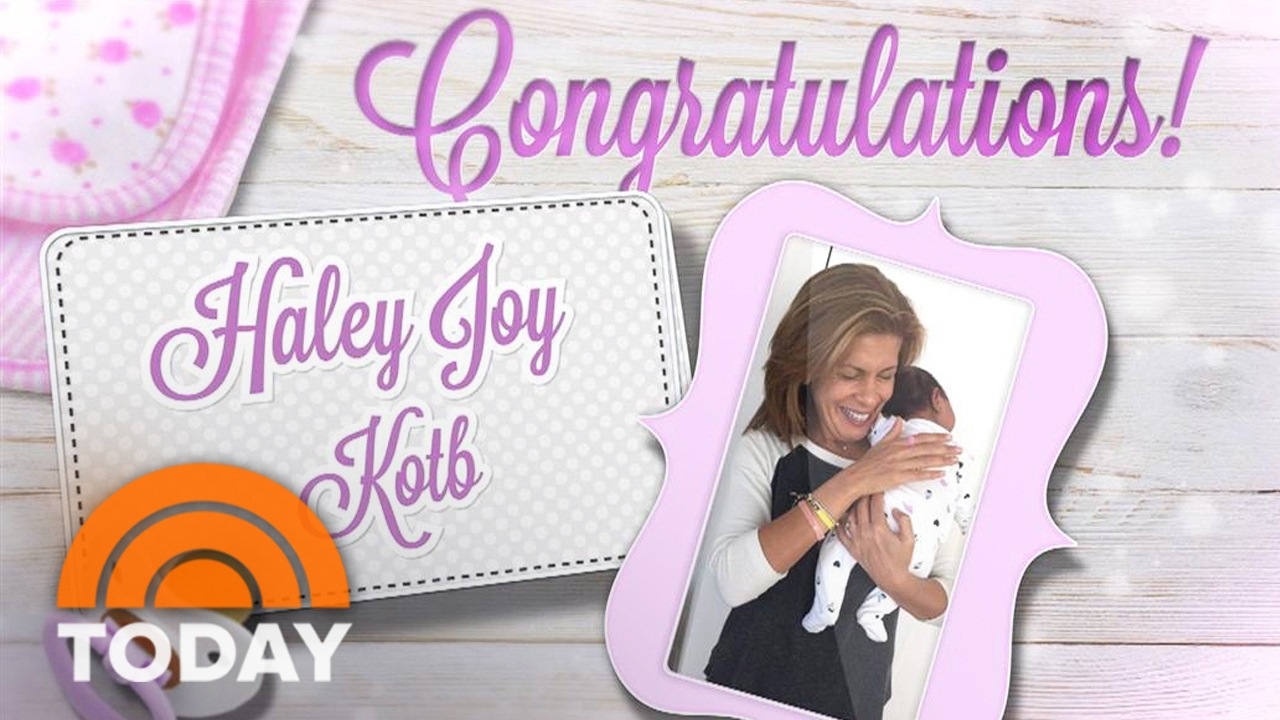 'Today' co-anchor Hoda Kotb adopts baby girl