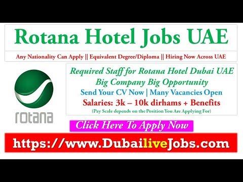 Rotana Careers Dubai Hotel Jobs | Jobs In Dubai