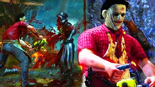 "HE GAVE UP TWICE... - Mortal Kombat X ""Leatherface"" Killer Gameplay (MKXL Ranked)"