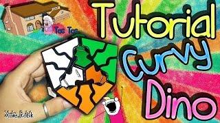 Como resolver el Curvy Dino - Tutorial - El truco de la vecina xD Xole_Rubik