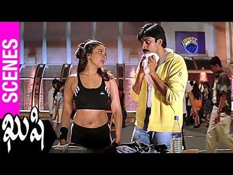 Mumtaj Falls For Pawan Kalyan | Kushi Movie | Bhumika | SJ Surya | Mani Sharma