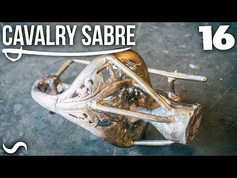 MAKING THE CAVALRY SABRE: Part 16