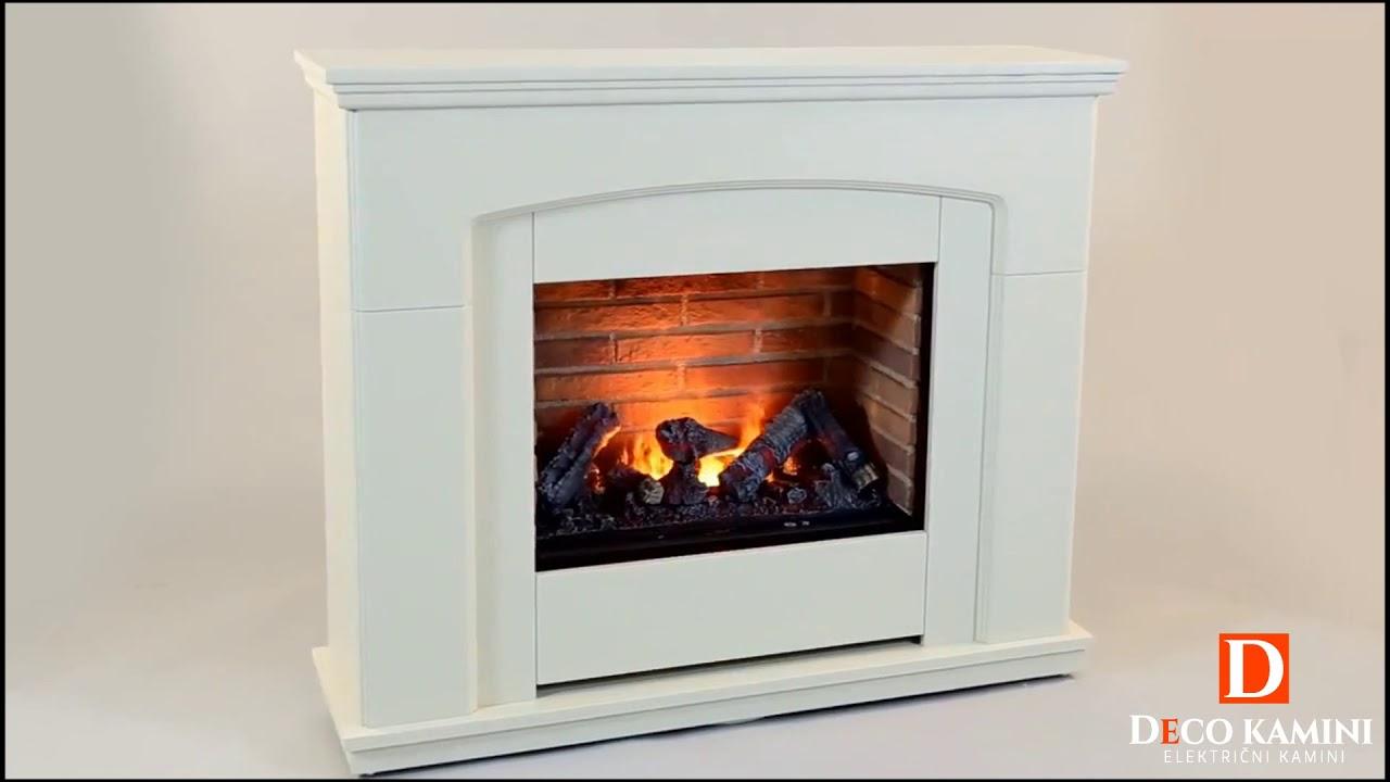 elektri ni kamin alameda deco kamini youtube. Black Bedroom Furniture Sets. Home Design Ideas