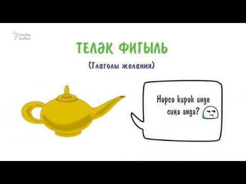 Глаголы желания в татарском языке