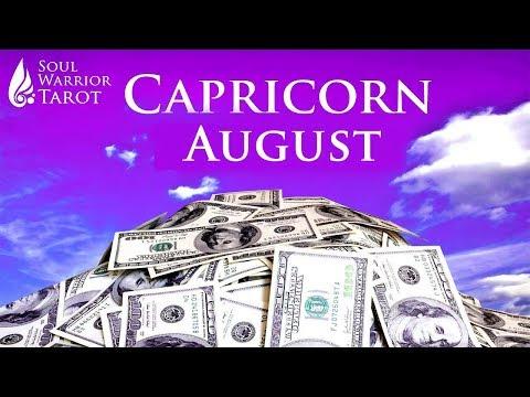 🍀CAPRICORN AUGUST MONEY CAREER BUSINESS ABUNDANCE READING  Soul Warrior Tarot 2019 1