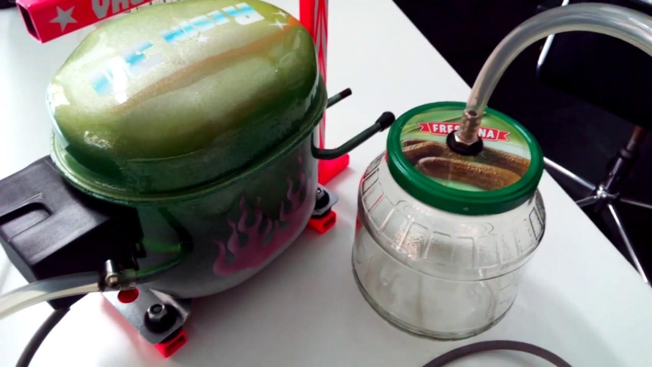 Pompa per il vuoto fai da te vacuum pump diy for Bordi per aiuole fai da te