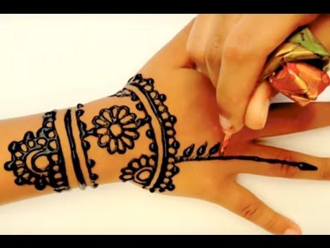 Tattoo Mehndi Tangan : ᴴᴰ henna art mehndi tangan youtube