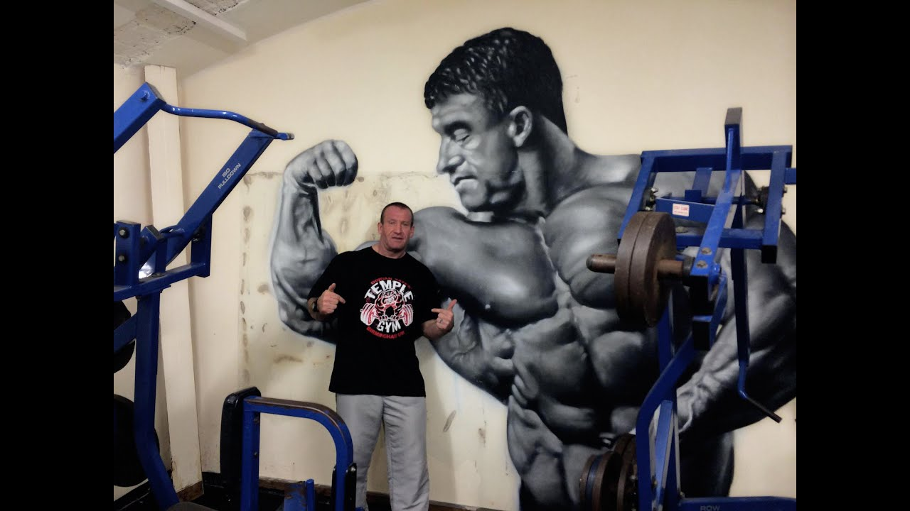Dorian Yates Train With The Shadow 15th 19th December 2014