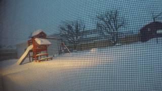 2017 snowstorm NEPA Wilkes-Barre timelapse