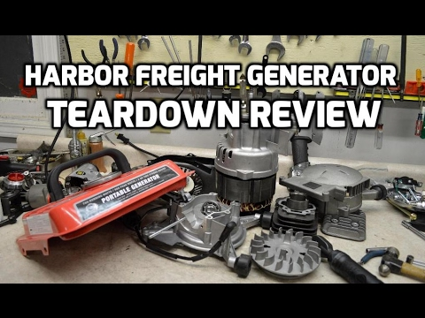 Teardown: Harbor Freight Storm Cat or Tailgator generator review