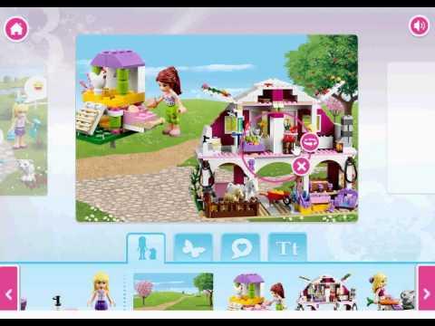 лего подружки игра создай альбом Lego Friends Story Maker Game