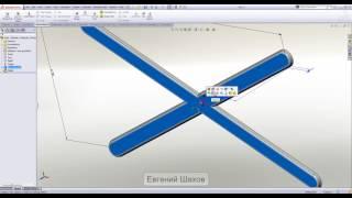 11 Урок. Листовой металл в SolidWorks. Инструмент формирования (Forming tools)