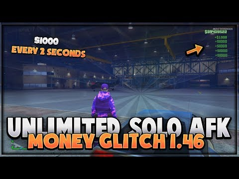 GTA 5 ONLINE - *NEW* EASY SOLO AFK MONEY GLITCH (NO REQUIREMENTS) *Xbox & PS4* GTA 5 Online  1.46 thumbnail