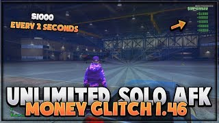 GTA 5 ONLINE - *NEW* EASY SOLO AFK MONEY GLITCH (NO REQUIREMENTS) *Xbox & PS4* GTA 5 Online  1.46