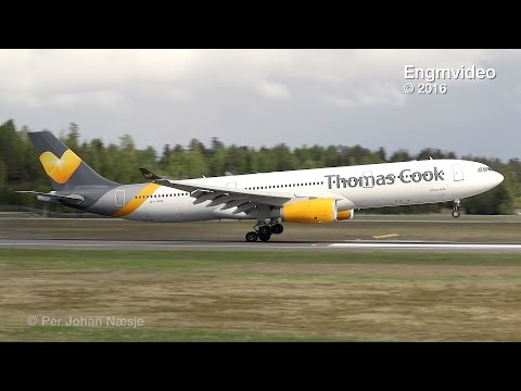Thomas Cook Airlines Scandinavia new paint scheme A333