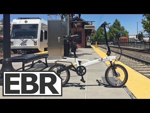 VeloMini Plus Video Review - Lightweight Folding Ebike
