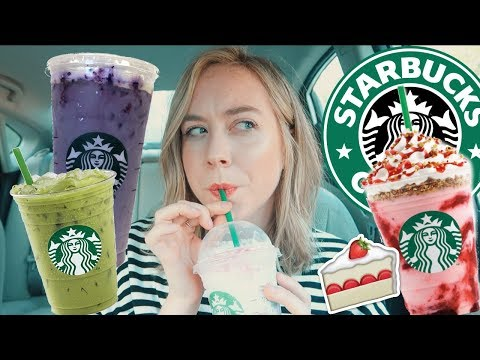 Starbucks SUMMER Secret Menu Drinks w Emma Lev