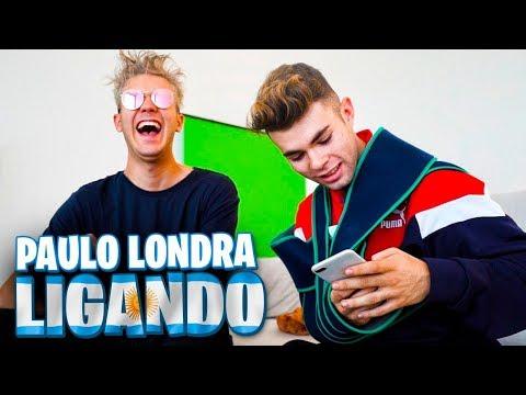 LIGANDO con LETRAS de PAULO LONDRA y TRAP ARGENTINO con LOGAN G [Salva]