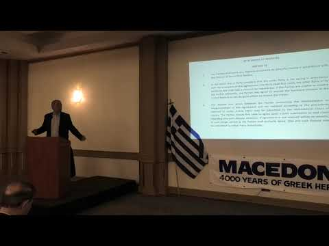 Part IΙΙ - Ν. Λυγερός: Στρατηγική Ακύρωσης του Προσυμφώνου των Πρεσπών. Οττάβα, 16/04/2019