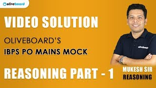IBPS PO Mains Analysis | Coding-decoding + Arrangement | Mock Test #1