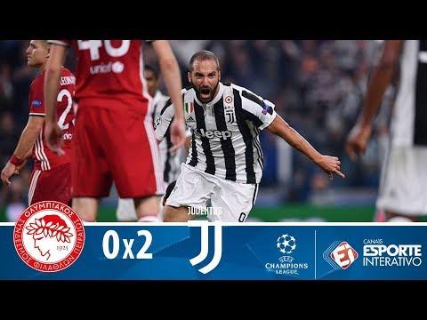 Melhores Momentos - Juventus 2 X 0 Olympiacos - Champions League (27/09/17)