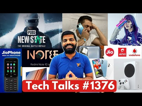 Tech Talks #1376 – PUBG: New State India, A32 India Launch, Galaxy M12, Redmi Note 10 108MP, K40 Pro