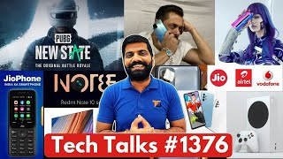 Tech Talks #1376 - PUBG: New State India, A32 India Launch, Galaxy M12, Redmi Note 10 108MP, K40 Pro
