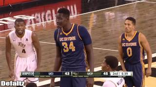 Tacko Fall Vs Mamadou Ndiaye Full Highlights 18 11 2015   7'6 vs 7'6!