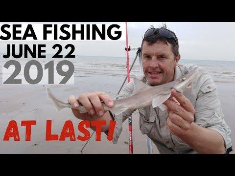 Sea Fishing June 2019 -Fish At Last !