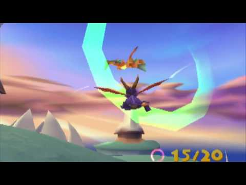 Spyro 2 Part 3  - Ocean Speedway (with Superflame and DJG)
