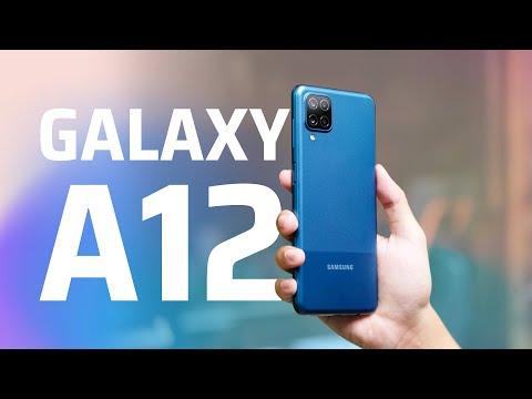 Mở hộp Samsung Galaxy A12 | Tinh tế