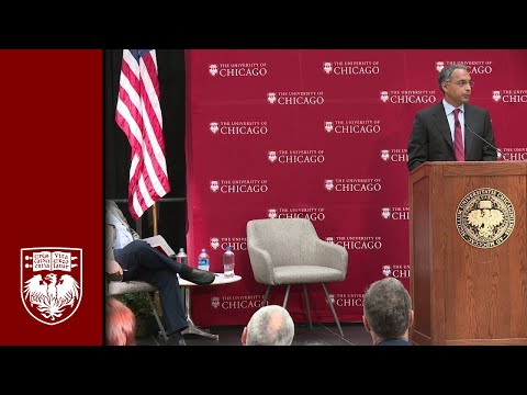 UChicago Nobel Prize news conference for Richard Thaler