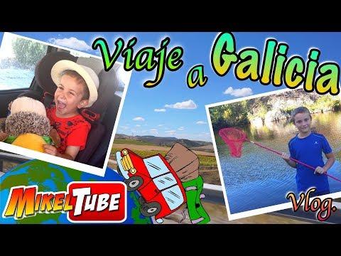 Viaje a Galicia Vlog. Vacaciones MikelTube