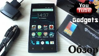 Prestigio Grace Q5 PSP5506 DUO 3200мАч Android 5.1 Lollipop Обзор смартфона