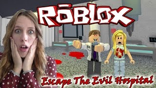 ESCAPING DEATH 😈 ? ESCAPE THE EVIL HOSPITAL - ROBLOX RYE Moments 😜