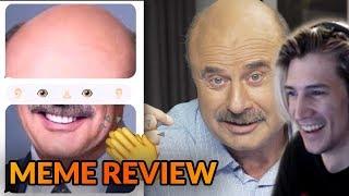Xqc Reacts To Dr Phil Hosts Meme Review - Pewdiepie