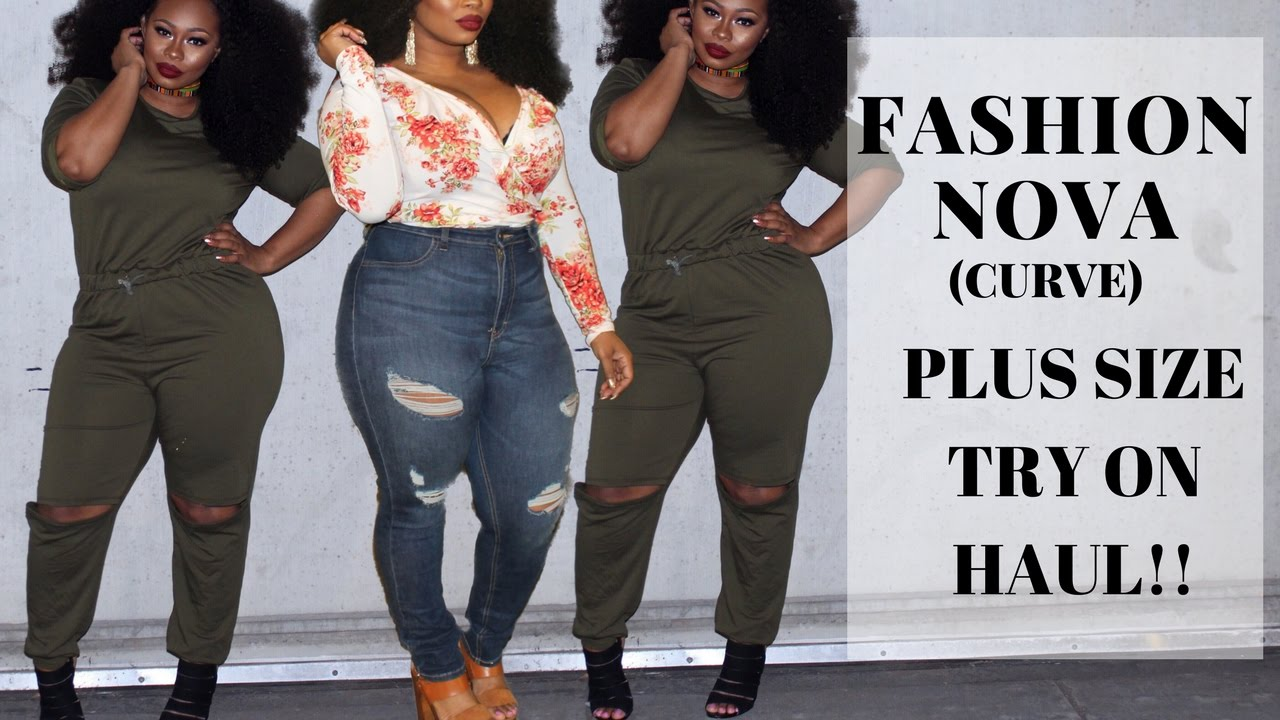 fashion nova curve try on haul (first plus size try on haul) - youtube