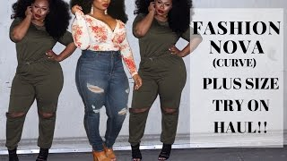FASHION NOVA CURVE TRY ON HAUL (FIRST PLUS SIZE TRY ON HAUL)
