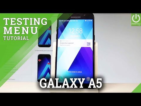 Codes SAMSUNG A520F Galaxy A5 (2017) - HardReset info