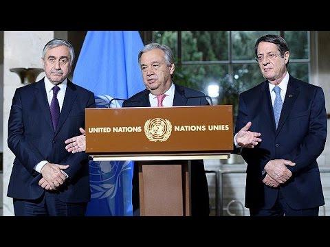 Kıbrıs: Müzakerelerde Gutteres umudu