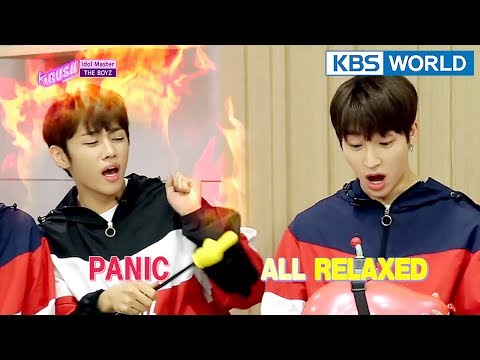 Today's GUEST : THE BOYZ [KBS World Idol Show K-RUSH3 / ENG,CHN / 2018.04.20]